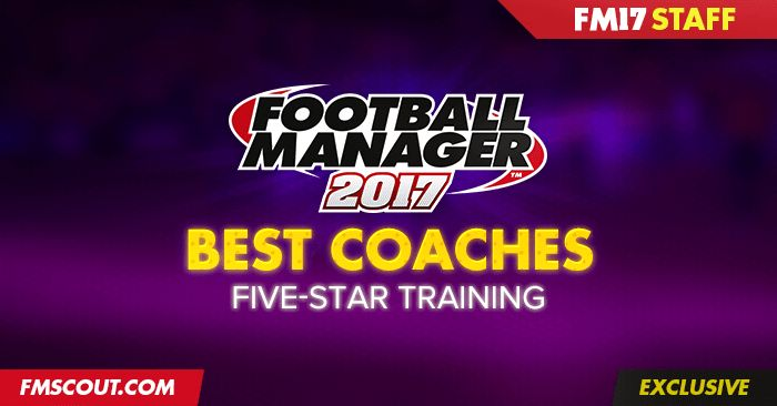 Most comprehensive list of Football Manager 2017 best coaches. Hundreds of highly rated coaches in FM 2017 to get 4.5 & 5 stars in all training areas.