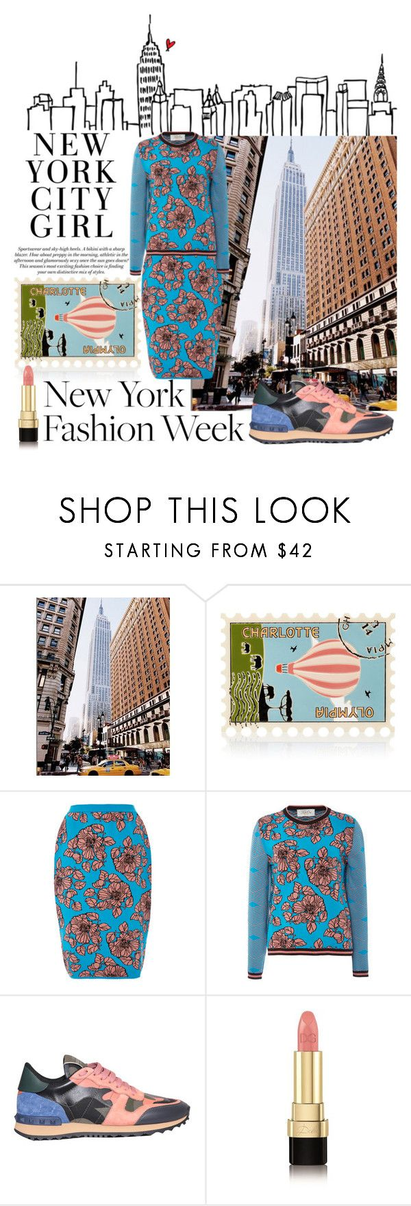 """""""running NYFW"""" by kc-spangler ❤ liked on Polyvore featuring Charlotte Olympia, Tak.Ori, Valentino, Dolce&Gabbana, women's clothing, women, female, woman, misses and juniors"""