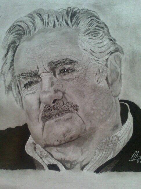 Mujica grafito sobre papel