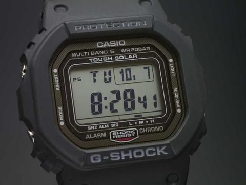 CASIO G shock GW-5000-1JF MULTI BAND 6 JAPAN MADE