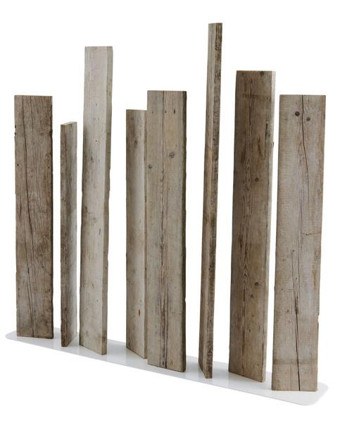 Wood screen