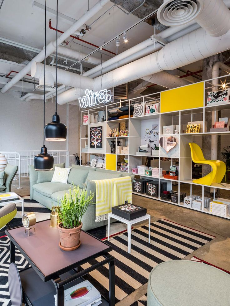 Vitra Opens a New Pop-Up Shop and Garage Office [New York] | Trendland