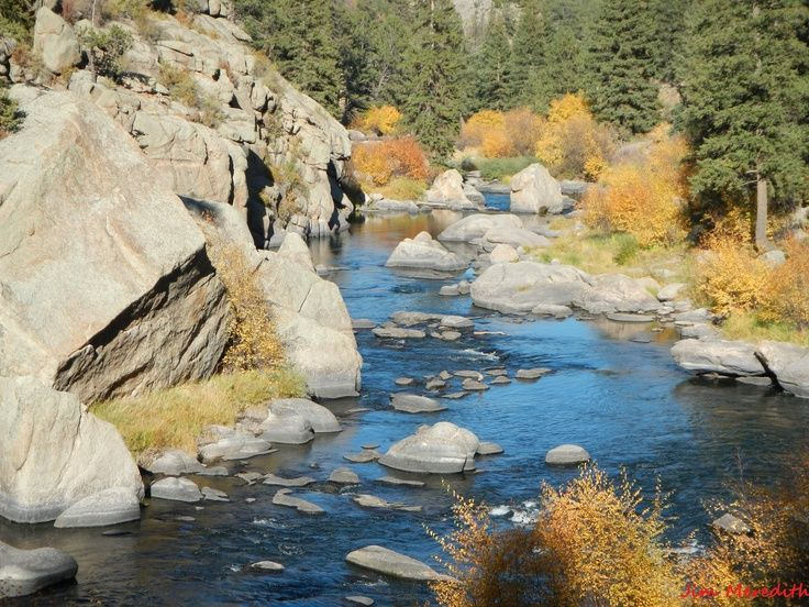 Eleven mile canyon colorado in the fall awesome place to for Eleven mile canyon fishing