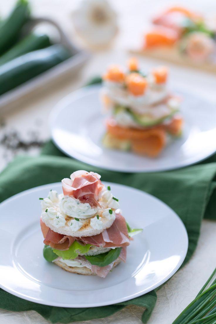 Torretta gastronomica: tante idee per un antipasto ricco, gustoso e veloce da preparare.  [Easy appetizer]