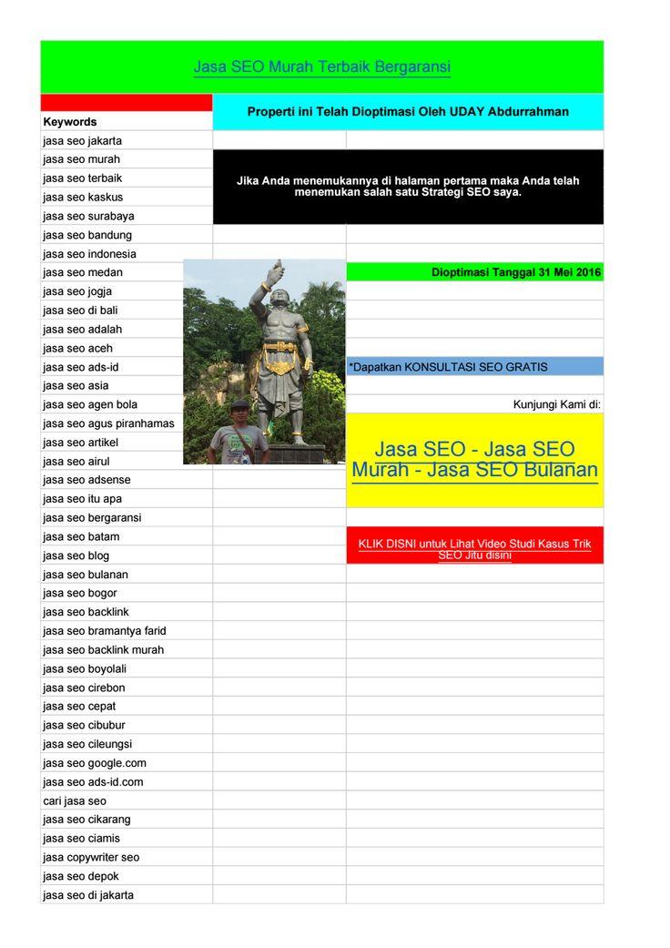 Jasa SEO Murah di Jakarta - 08112208376