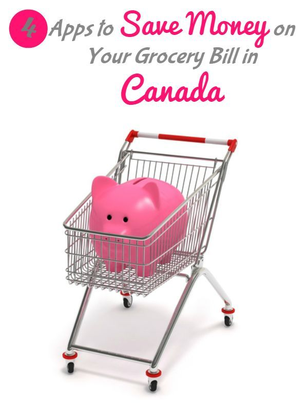Four Apps to Save Money on Groceries in Canada - Simply Stacie Save Money, Saving Money, Budgeting #Budget, #SaveMoney