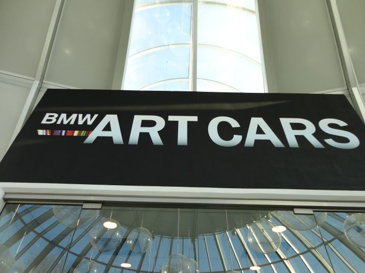 BMW Art Cars http://northernfjords.com/2012/10/01/the-stavanger-art-museum-cars-and-paintings/