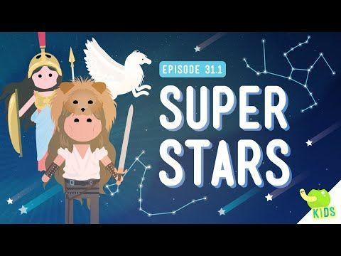 Super Stars (Constellations): Crash Course Kids #31.1 - YouTube