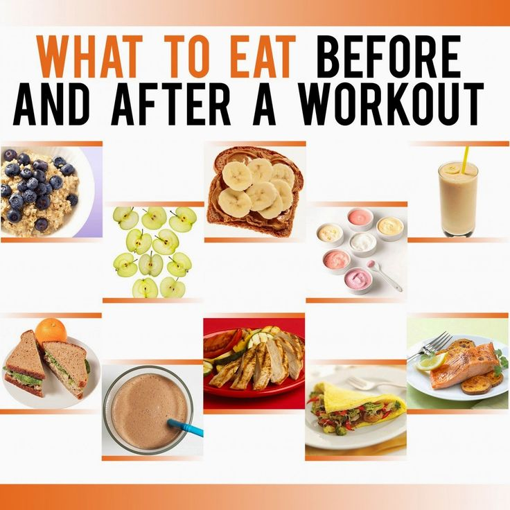 Everything Here: Food before and after workout