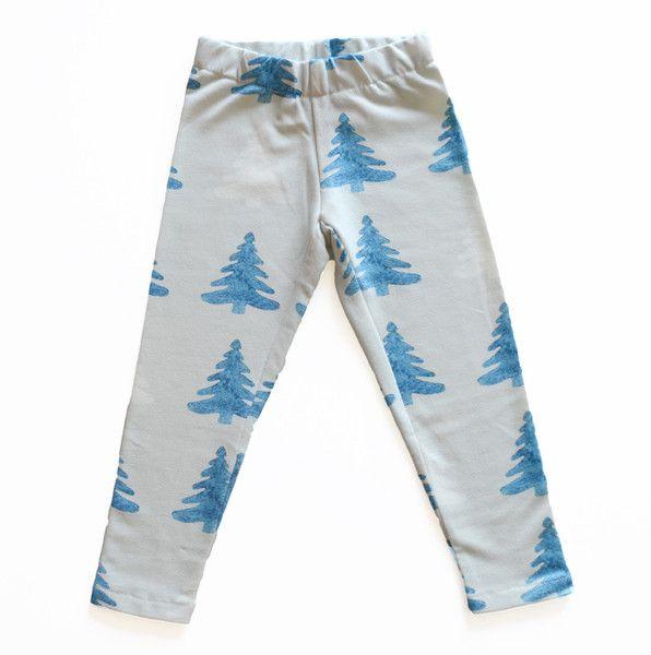Perfect Days: Organic forest leggings  / CozyKidz.net