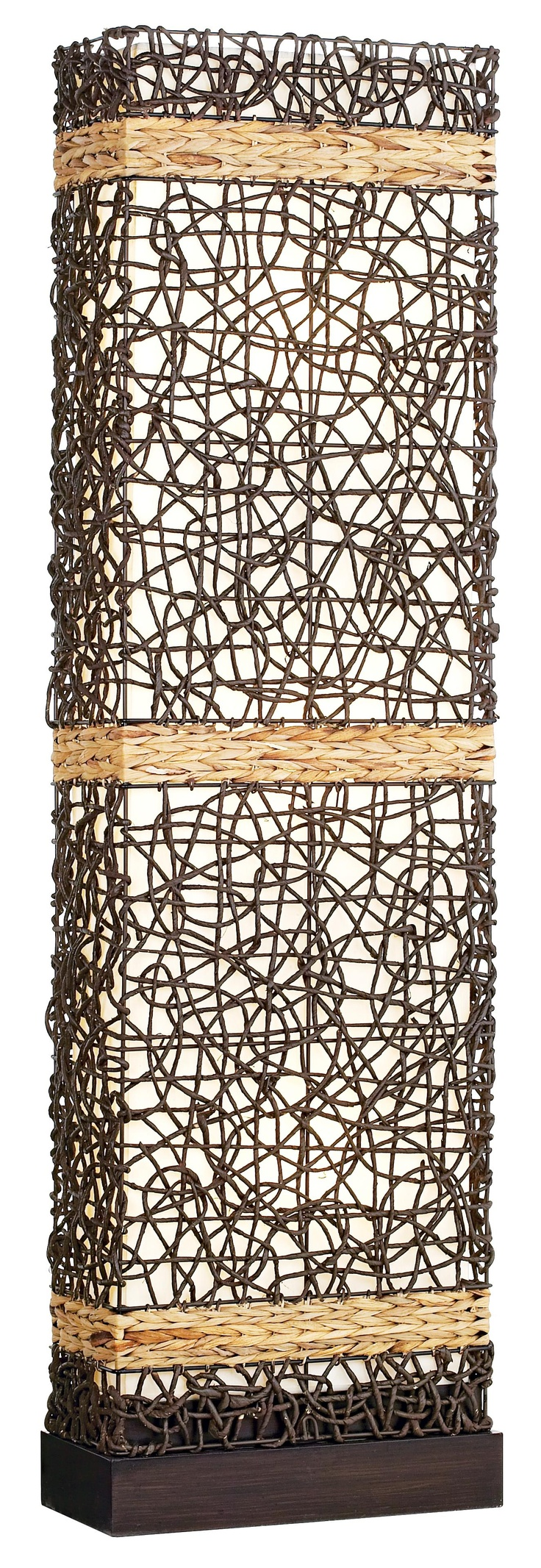 12 best woven lamps images on pinterest rattan wicker and floor kathy ireland gallery seagrass wicker weave floor lamp mozeypictures Image collections
