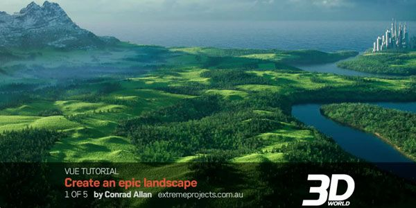 Creating an Epic Landscape using Vue & World Machine