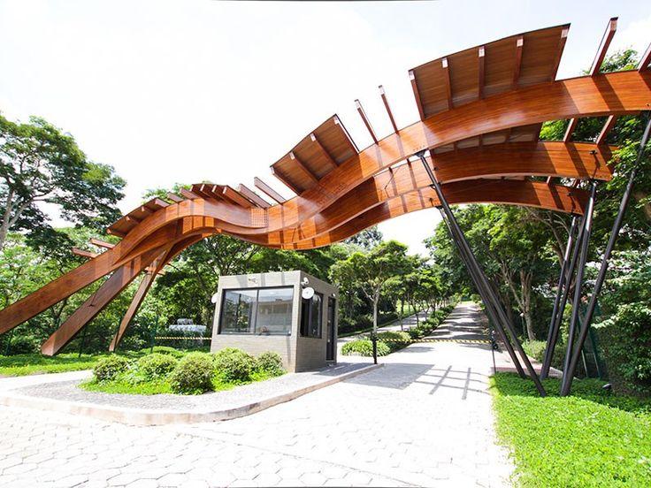 Arquitetura : Crisa Santos Madeira Laminada Colada de Eucalipto Fotos por Maraí Senkevics
