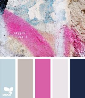 great color comboColors Combos, Bathroom Colors, Design Seeds, Bedrooms Colors, Playrooms Colors, Girls Room, Colors Combinations, Colors Palettes, Colors Schemes