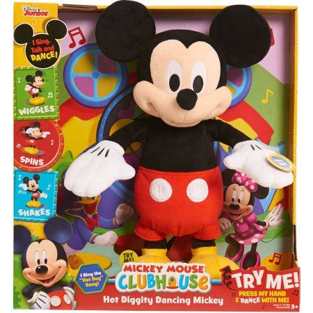 Disney Mickey Mouse Clubhouse Hot Diggity Dancing Mickey - Walmart.com