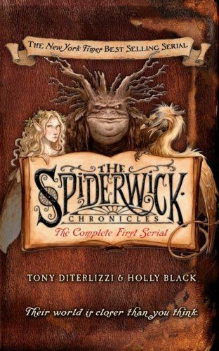 Spiderwick Chronicles: The Complete First Serial.  After finding a mysterious, handmade field guide in the attic of the ramshackle old mansion they've just moved into, Jared; his twin brother, Simon; and their older sister, Mallory, discover that there's a magical and maybe dangerous world existing parallel to our own--the world of faerie. The Grace children want to share their story, but the faeries will do everything possible to stop them...
