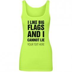 I like Big Color Guard Flags