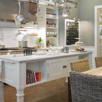 Island Cookbook Shelf, Transitional, kitchen, Deulonder