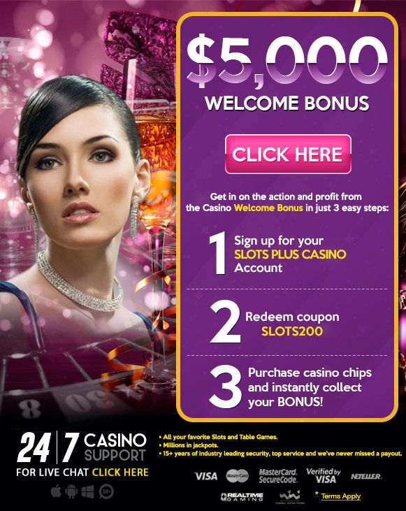 Mobile Online and Live Casino Games: $5,000 Slots Plus Welcome Bonus Offer
