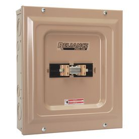 Reliance 100-Amp Utility/Generator Transfer Switch Tca1006d