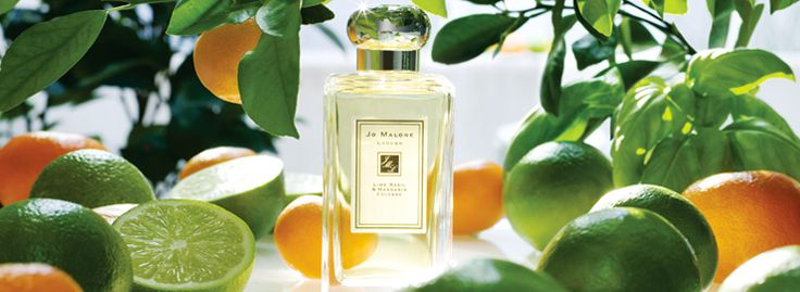 Jo Malone.  Lime Basil & Mandarin Collection.  Our signature fragrance. Peppery basil and aromatic white thyme bring an unexpected twist to the scent of limes on a Caribbean breeze. A modern classic.