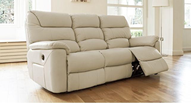 La Z Boy Manhattan 3 Seater Power Recliner Sofa Living