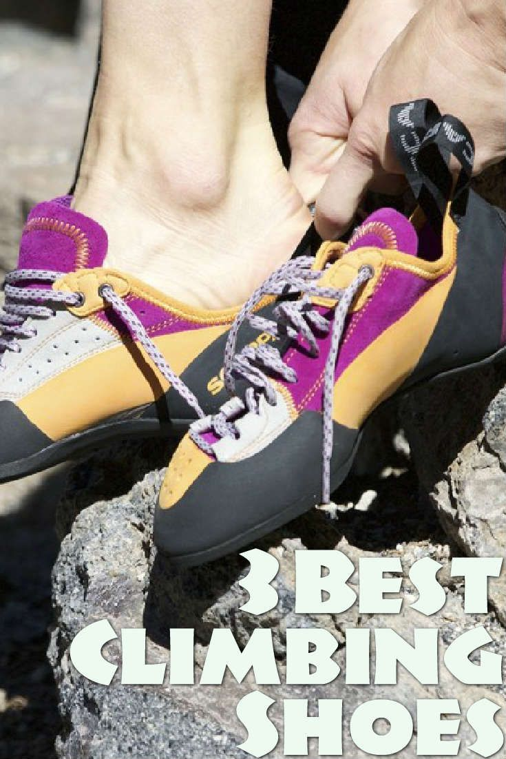There are a dizzying number of climbing shoes on the market that all claim to be the best, yet most of them fall short of these promises. Here are 3 consistently high rated shoes from different brands that will work well for a variety of climbs and a variety of climbers.