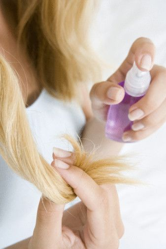 tips to repair split ends-easy homemade treatments for split ends. need this !
