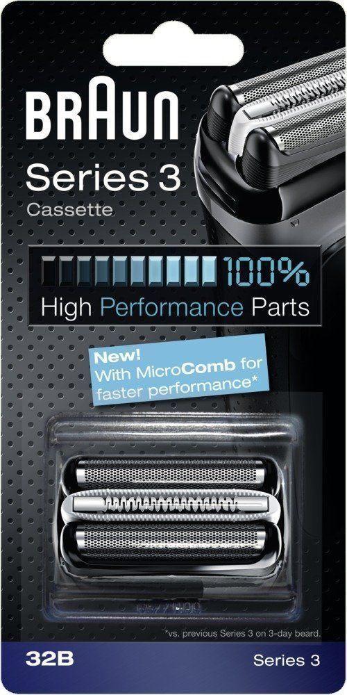 BRAUN 32B Series 3 Shaver Cassette Foil & Cutter 100% high performance parts #Braun