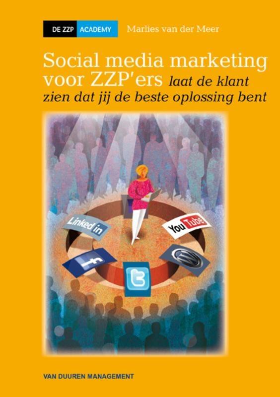 """""""Goed boek voor als je wilt weten hoe je social media moet inzetten als zzp'er"""" -Yvonne Alefs op bord Worth reading"""