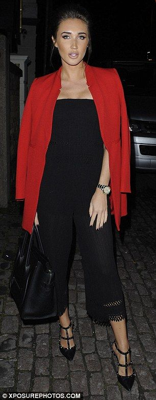 Entire TOWIE cast dress up and head to an Essex nightclub for filming