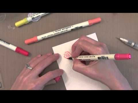 Video By Jennifer McGuire for Simon Says Stamps May 2013 Card Kit Blog Hop.