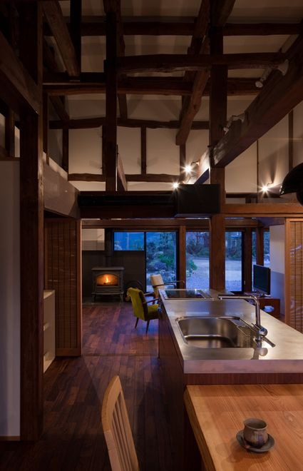 Igawa House, a restoration and renovation of a 90-year old Japanese home. Completed by Igawa Architects