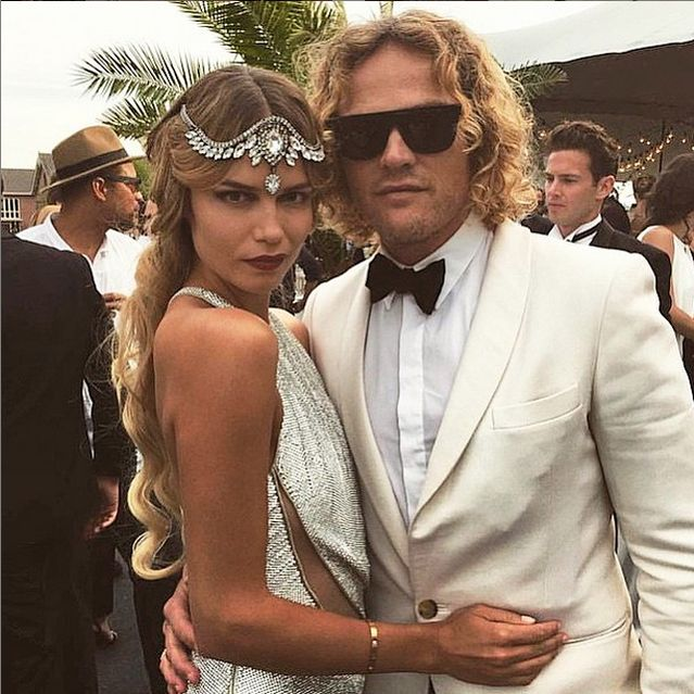 The queen model Natasha Poly celebrates her 30th birthday wearing emanuele bicocchi crystals headpiece! So honored to be chosen by such a fashion icon!  #natashapoly #emanuelebicocchi #fashionmodel #model #fashion #natasha #poly #jewelry #happybirthday