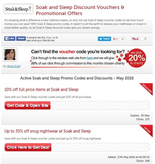 It's amazing what a difference a new mattress makes, so why not use these Soak & Sleep Discount Vouchers to see how much money you can save?  https://www.myfavouritevouchercodes.co.uk/soakandsleep.com  #Money_off_Soak_and_Sleep #Soak_and_Sleep_Voucher_Codes #Soak_and_Sleep_Promotional_Codes