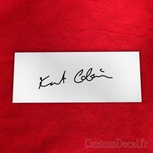 Résultats de recherche d'images pour «kurt cobain signature»