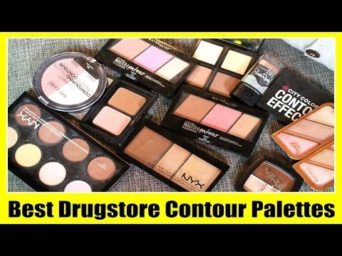Best Drugstore Contour & Highlight Palettes - YouTube