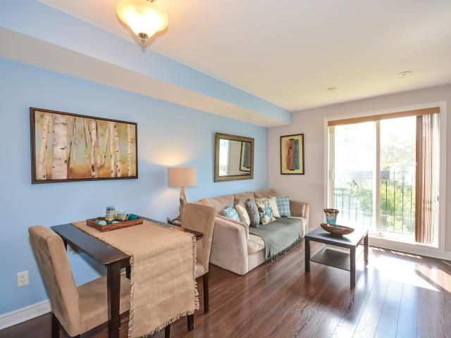 #Toronto #RealEstate #Townhome Love over looking the park, waterfall and trails - Jane Subway in ten minutes - 2 Bedroom with parking and locker $289,900