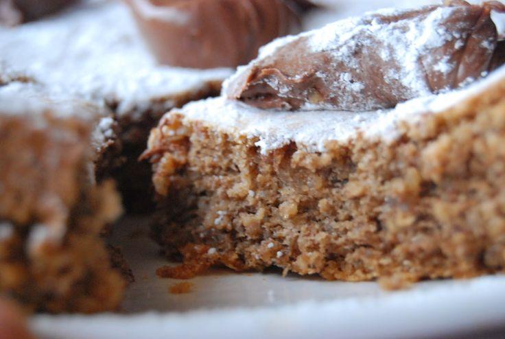 Era solo un anno a casa: torta di noci senza glutine - glutenfree walnut cake