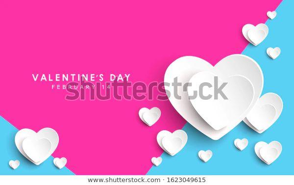 Vector Valentines Day Cards Templates เวกเตอร สต อก ปลอดค าล ขส ทธ 1623049615 ภาพประกอบ