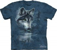 Wolf Reflection - The Mountain