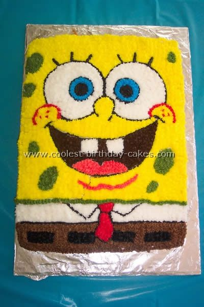16 best Spongebob cakes images on Pinterest Birthday party ideas