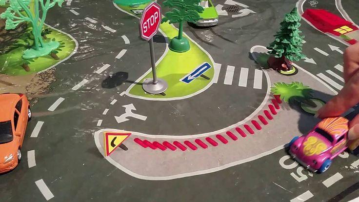 LASTENOHJELMIA SUOMEKSI - Liikennemerkkejä (video 4:30).