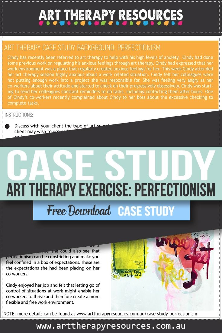 Perfectionism In Students Case Study In >> Case Study Using Art Therapy For A Client Who Is A Perfectionist
