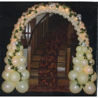 Arcos globos para matrimonios buscar con google for Adornos para bodas con plantas