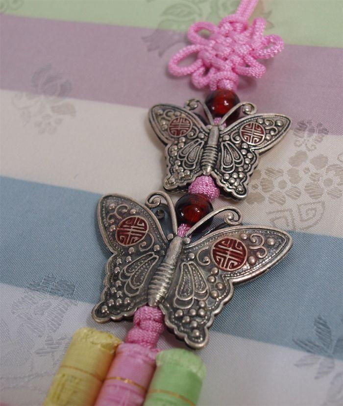 Traditional Korean Accessories | Norigae Korean Traditional Ornament for HANBOK 2NAVI Light Pink | eBay