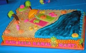 summer cakes ideas | Hawaiian Birthday Cake Recipes 300x187 Hawaiian Style Birthday Cakes