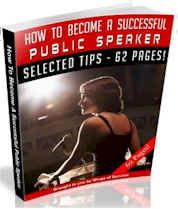 How To Become A Successful Public Speaker (62 Page MRR Ebook Package) dunway.info