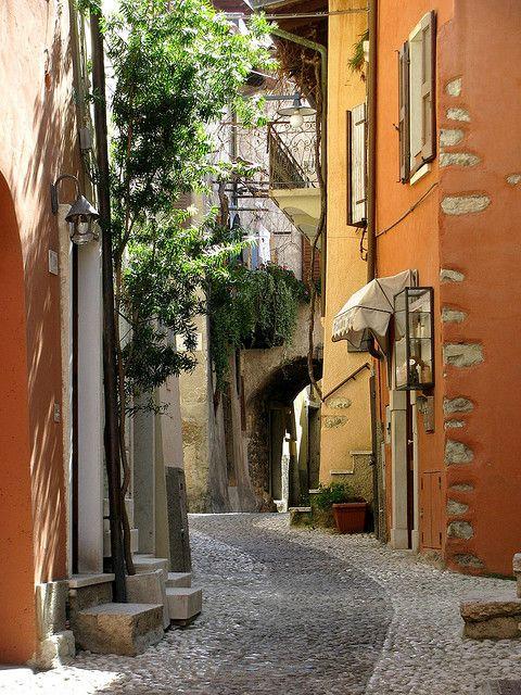 Malcesine on Lake Garda, Italy