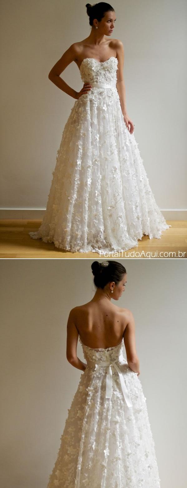 vestidos de noiva tendencia 2013
